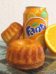Bizcochitos de fanta de naranja