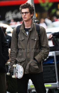 Andrew Garfield + Nerd Glasses