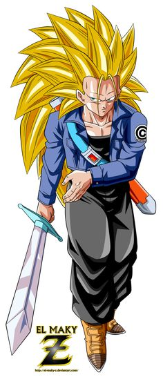 Future Trunks Super Saiyan 3 by el-maky-z on DeviantArt