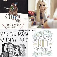 How to Build a Visual Vocabulary: Creating a Fabulous Brand Identity. A quirky and whimsical mood board and color palette.  See more on www.designyourownblog.com