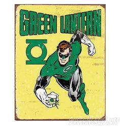 Vintage Green Lantern Poster