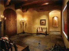 Southwestern/Western Home Decor: Paradise Valley Entry: Debra May Himes Interior Design