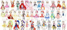 40 Sakura costumes ref sheet by hadh on DeviantArt Kero Sakura, Cardcaptor Sakura, Sakura Card Captors, Manga Anime, Clear Card, Fashion Design Drawings, Cute Anime Couples, Princesas Disney, Magical Girl