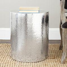 Safavieh Polonium Silver Table By Safavieh