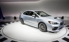 New Price Release Subaru WRX STI 2015 Review Front Side View Model