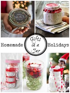 Homemade Holidays Gifts In A Jar
