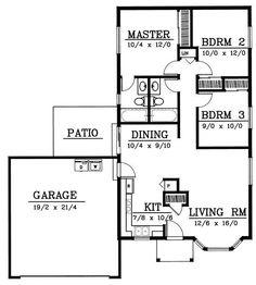 Small house plan on pinterest small house plans floor for Www houseplans net