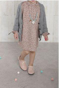 Andopa filles Full Circle 2 pi/èces Automne Hiver Party en coton bio Robe Pour Fille