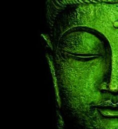 verde---➽viridi➽πράσινος➽green ➽verde➽grün➽綠➽أخضر ➽зеленый Buddha Zen, Gautama Buddha, Buddha Buddhism, Buddha Quote, Photo Zen, Art Zen, Tachisme, Buddha Painting, World Of Color