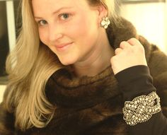 Kate Spade Fur Pullover