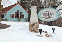 Quilt Junction, housed in a 19th-century train depot, offers ... : quilt junction waterford ontario - Adamdwight.com