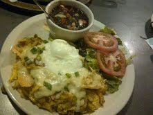Chorizo Chilaquiles @ Cafe Brazil