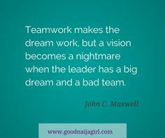Image result for teamwork makes the dreamwork quote