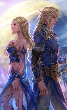 f High Elf Cleric m High Elf Cleric Community Temple Conifer Forest Hidden City Theodora and Damian by RedPear on DeviantArt med Gothic Fantasy Art, Beautiful Fantasy Art, Fantasy Girl, Anime Warrior, Fantasy Warrior, Fantasy Drawings, Fantasy Artwork, Final Fantasy Characters, Female Characters