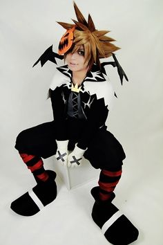 sora halloween town cosplay - Roxas Halloween Town
