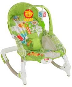 Fisher-Price Rainforest Infant to Toddler Rocker.