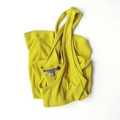 Vince tank top Really cute lime color, super soft. Vince Tops Tank Tops