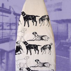 Dog ironing Board Cover. $30.00, via Etsy.  Ironing? Not sure what that is.