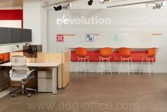 Knoll's NeoCon 2015 Showroom | The Office Network Gallery Tags / Keywords: NeoCon 2015 Bertoia Barstool AutoStrada Generation by Knoll Media ID: 12040 The Office, Planer, Showroom, Work Stations, Bar Stools, Conference Room, Table, Gallery, Design