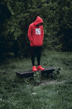 Red Hoodie by Admirable http://admirable.co