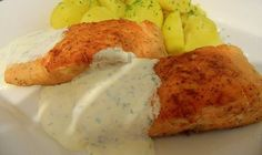 Salmon Recipes, Fish Recipes, Meat Recipes, No Salt Recipes, Fish And Meat, Christmas Baking, Food And Drink, Potatoes, Yummy Food