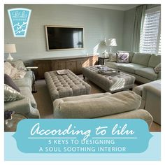 Designing a soul-soothing interior. LiLu Interiors shares 5 key ideas to inspire you to design a soothing interior Call LiLu Home Office Design, Home Office Decor, Home Decor, Bedroom Color Schemes, Bedroom Colors, Monochromatic Color Scheme, Design Homes, House Design, Soothing Colors
