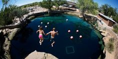 Take the plunge at this desert diving oasis in the middle of New Mexico  #travel #roadtrips #roadtrippers