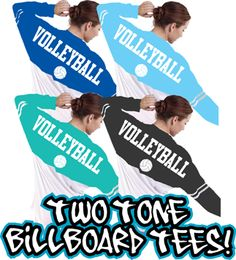 Two tone spirit jersey is the hottest item of the season, the oversized athletic BILLBOARD jersey tshirt, another fun volleyball design by GymRats Volleyball t-shirts, long sleeve tees, and hooded sweatshirts. Volleyball Jerseys, Volleyball Outfits, Play Volleyball, Volleyball Quotes, Coaching Volleyball, Volleyball Pictures, Volleyball Players, Cheerleading, Soccer