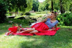 Picnic Blanket, Outdoor Blanket, Pin Up, Zip, Picnic Quilt