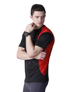 Black Sports T-shirt Men – Atheno India