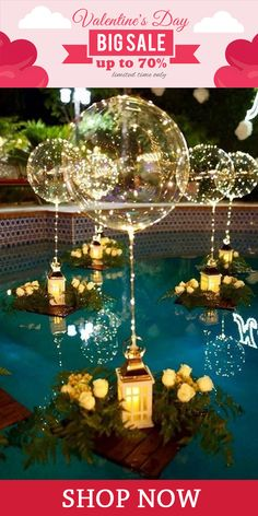 Imagine your birthday or wedding being illuminated with these beautiful LED balloons in the evening. What a wonderful atmosphere this would create and how surprised your guests would look. Balloon Decorations, Birthday Decorations, Wedding Decorations, Fall Wedding, Our Wedding, Dream Wedding, Wedding Ideas, Wedding Reception, 50th Wedding Anniversary