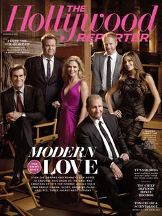 Modern Love - the cast of Modern Family on THR's new cover.