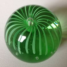 paperweight Stunning glass PAPERWEIGHT by 20thCenturyStuff