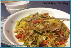 Sweet Beef And Vegetable Stir Fry