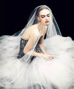 tulle fashion shoot