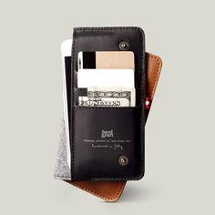 Fancy - Hard Graft Heritage Mighty Phone Fold Wallet
