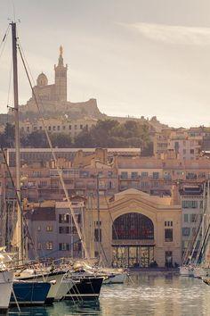 Le Vieux-Port à Marseille+++++