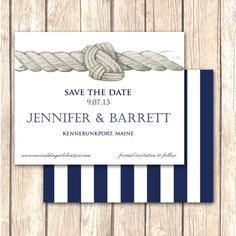 Tying the KnotWedding Save the Date and by VivaLaLovely on Etsy, $1.50