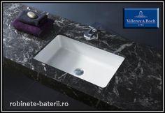 Lavoar dreptunghiular sub blat Architectura | Sink, Bathroom, Home Decor, Sink Tops, Washroom, Vessel Sink, Decoration Home, Room Decor, Bathrooms