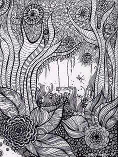 Doodle & Zentangle. Обсуждение на LiveInternet - Российский Сервис Онлайн-Дневников