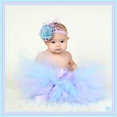 Zilly Bean Gypsy Blue and Purple Tutu