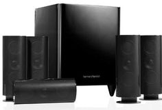 HKTS 60BQ 5.1Home theater speakers HKTS 60 uses the CMMD alt unit to deal with the HF details. HKTS 60 's voice is abundant and smooth.