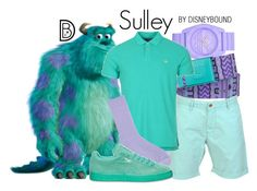 """""""Sulley"""" by leslieakay ❤ liked on Polyvore featuring adidas, Burton, GANT, Uniqlo, disney, disneybound, MensFashion and disneycharacter"""
