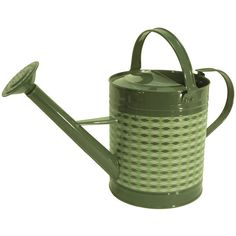 TDI Brands Retro Round Watering Can ($15) ❤ liked on Polyvore featuring home, outdoors and garden tools
