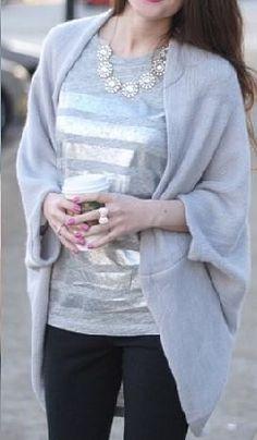 silver grey knit shurg  http://rstyle.me/n/bm78kpdpe