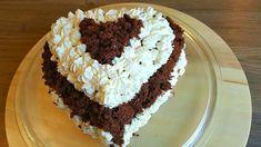 Yaşpasta Tarifi-Kalp seklinde yapima cok kolay dogum günü pastasi+Hatice...