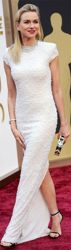 Naomi Watts in Calvin Klein - Oscar Award Winning Fashion 2014