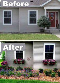 Mientras, otras pueden beneficiarse de unas cuantas jardineras.                                                                                                                                                     Más