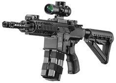 Silver Shadow Gilboa Snake Double Barreled AR-15 from Israel | The Firearm Blog