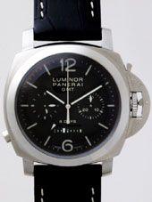 最高級パネライスーパーコピー パネライ時計コピー ルミノール1950 GMT 8DAYS zPAM00275 44mm ブラック